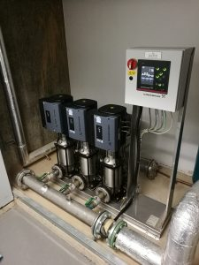 Cold Water Booster Pumps